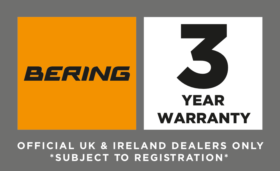 Bering 3 Year Warranty