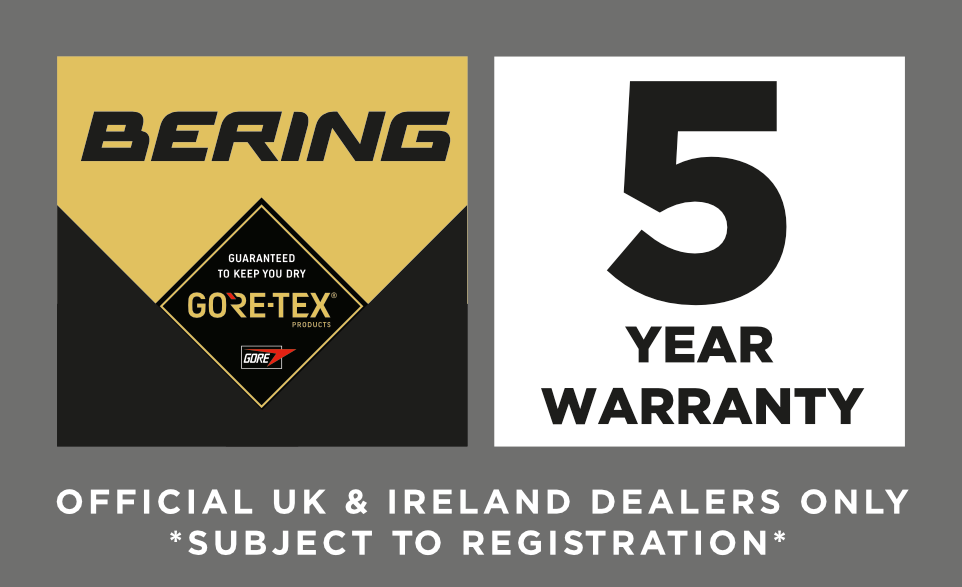 Bering 5 Year Warranty