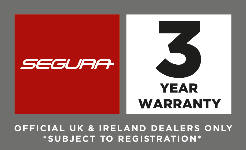 Segura 3 Year Warranty